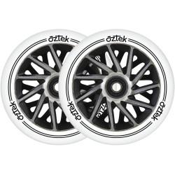 2 roues AZTEK Ermine - Noir...